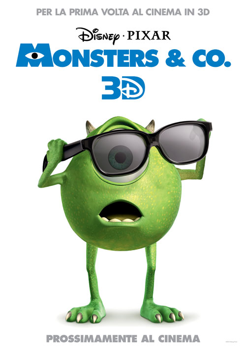 Monsters Co. Versione 3D